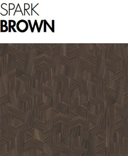 Agt 12mm desing by defne koz spark brown laminat parke